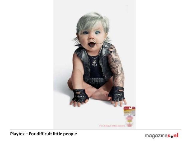 Playtex – For difficult little people