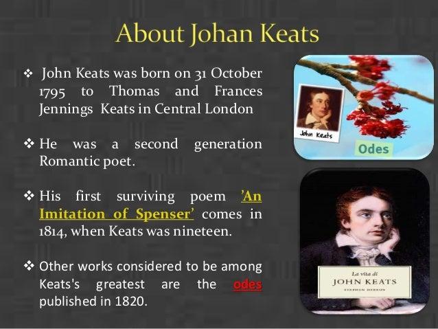 John Keats themes