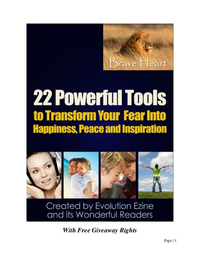 22 powerfultoolstotransformyourfear new1