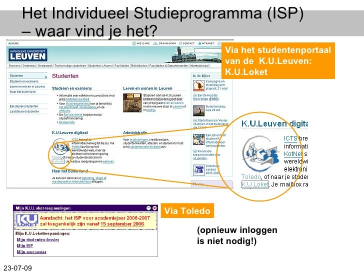 22sept2008 ISP informatie