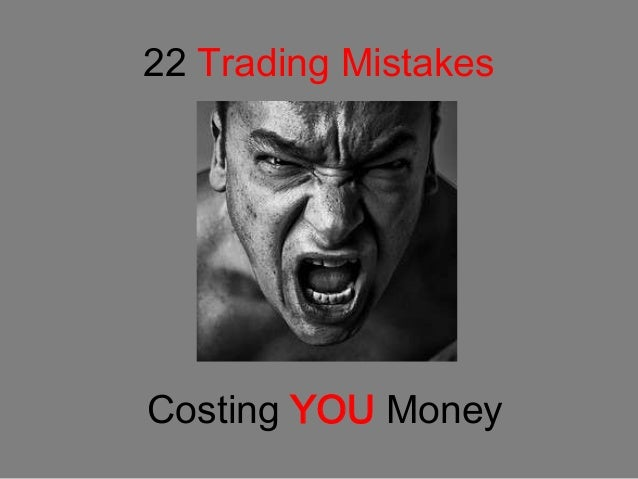 Lose money in forex after a mistake