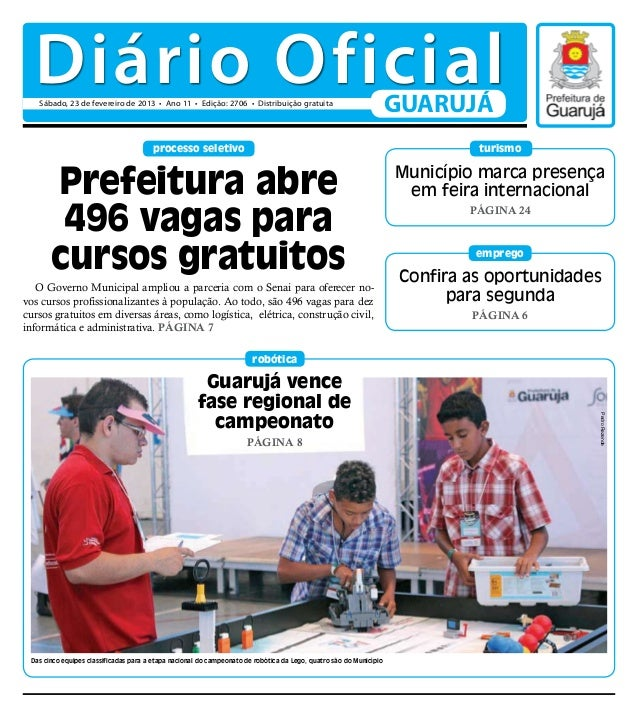 Diário Oficial 23-02-2013