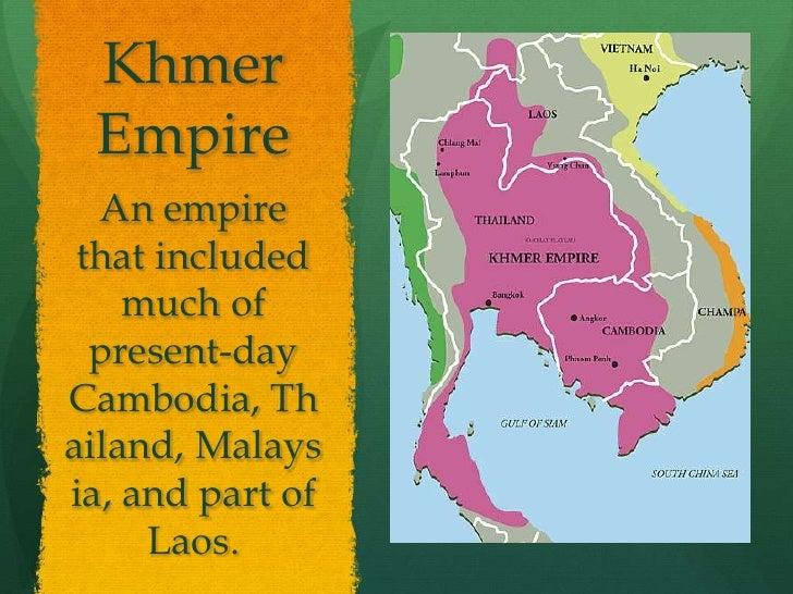 Khmer Empire Map Khmer Empirean Empire