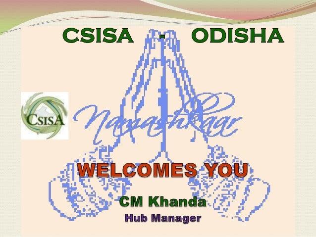 23  25 jan 2013 csisa kathmandu odisha c.m. khanda