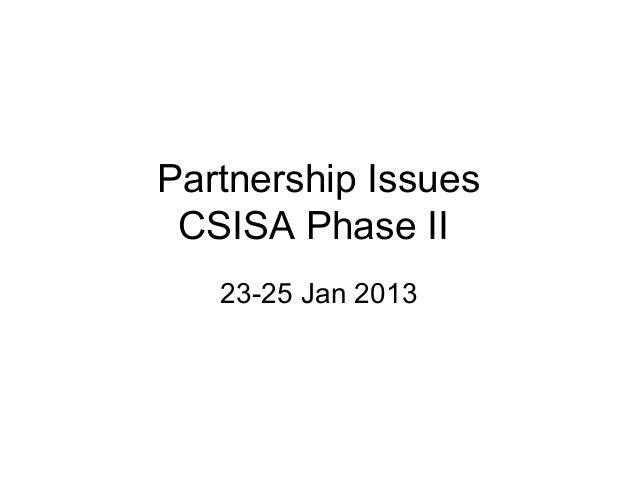 23  25 jan 2013 csisa kathmandu partnership issues noel