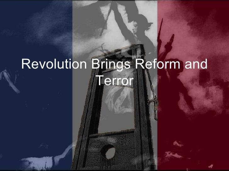 23.2 revolution brings reform and terror