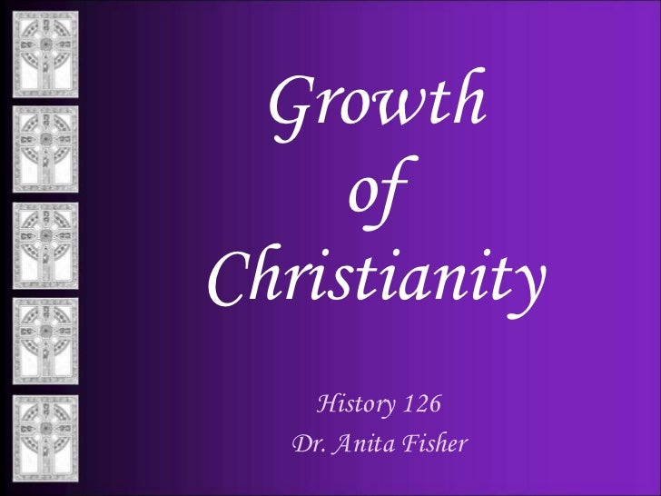 23. growth of christianity f