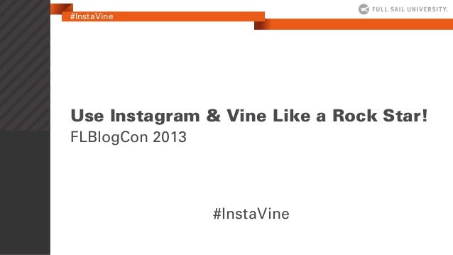 Melissa Albers & Jimi Kunkel: Use Instagram Like a Rock Star #FLBlogCon13