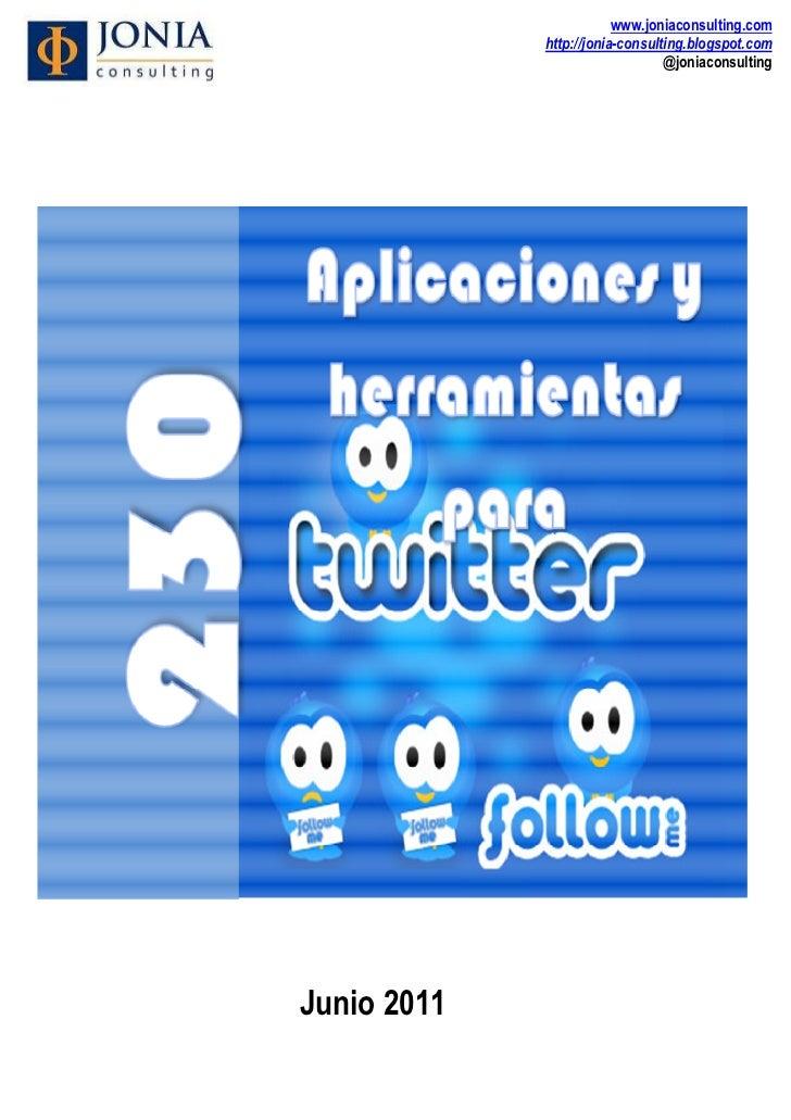 230 herramientas y aplicaciones para twitter