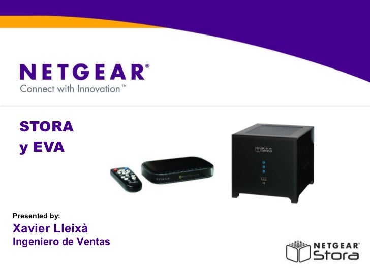 STORA  y EVA  Presented by: Xavier Lleixà Ingeniero de Ventas
