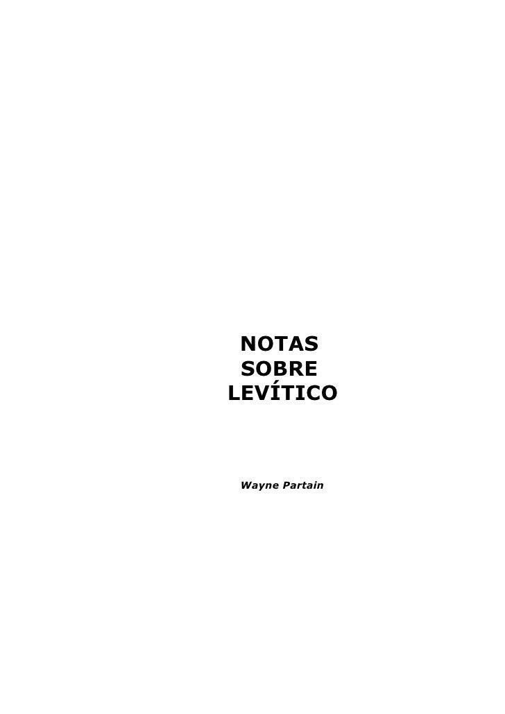 23223260 wayne-partain-notas-sobre-levitico