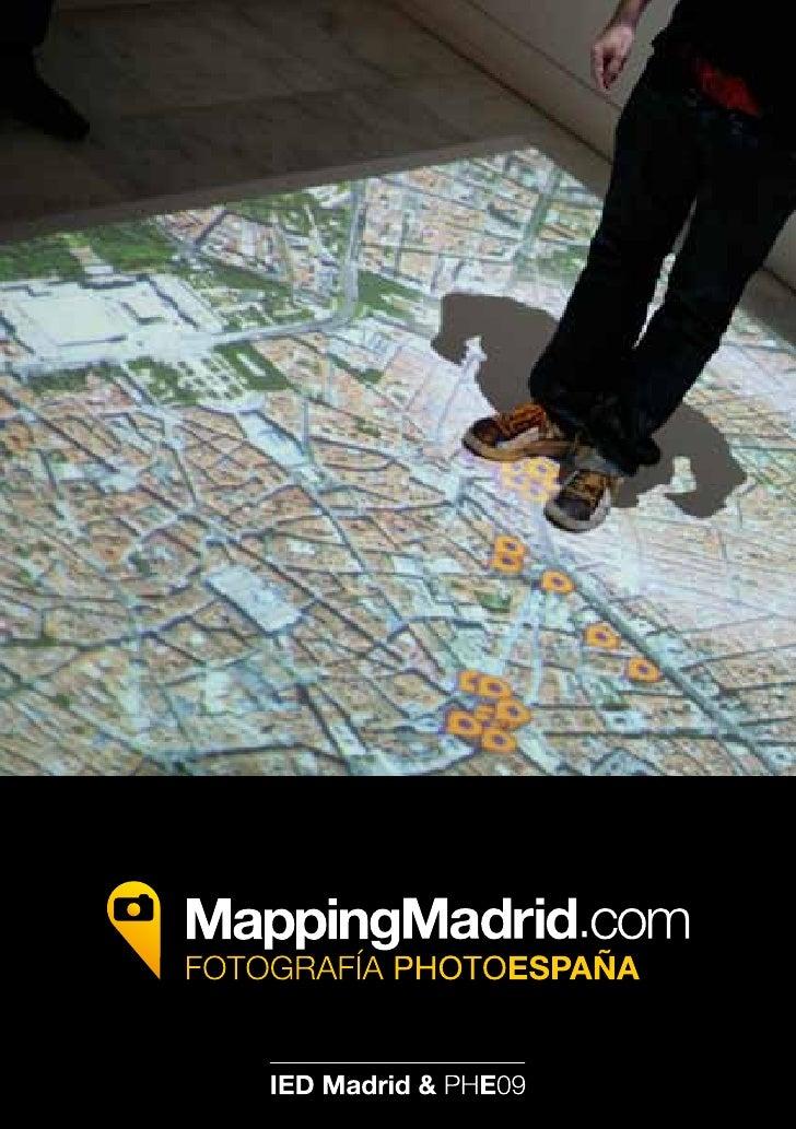 Vídeo sobre la exposición Mapping Madrid, IED Madrid ¡Pincha en la imagen y disfruta del vídeo!