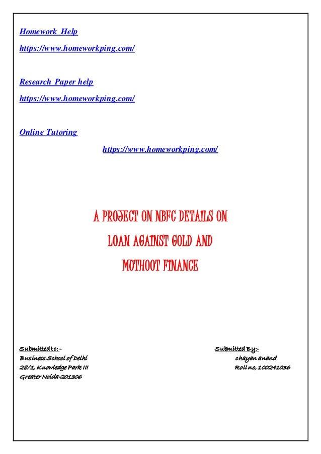 Custom research paper help