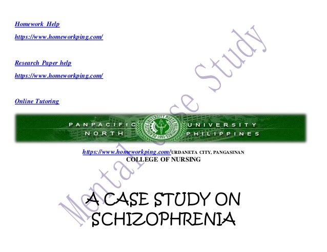 Apa style research paper on schizophrenia