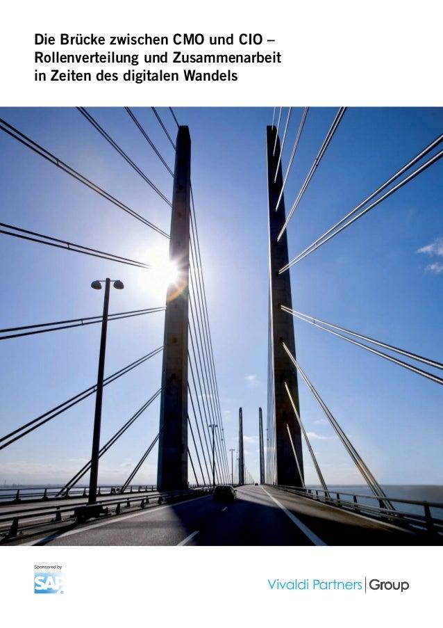 Die Brücke zwischen CMO und CIO – Rollenverteilung und Zusammenarbeit in Zeiten des digitalen Wandels