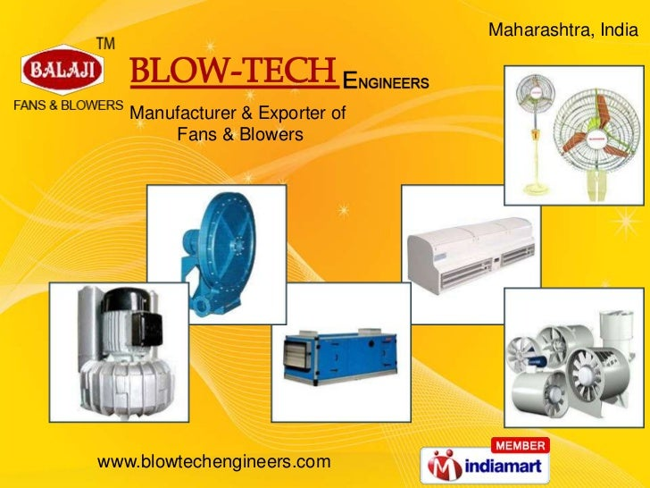 Industrial Blowers and Fans by Blow-Tech Engineers, Mumbai, Thane