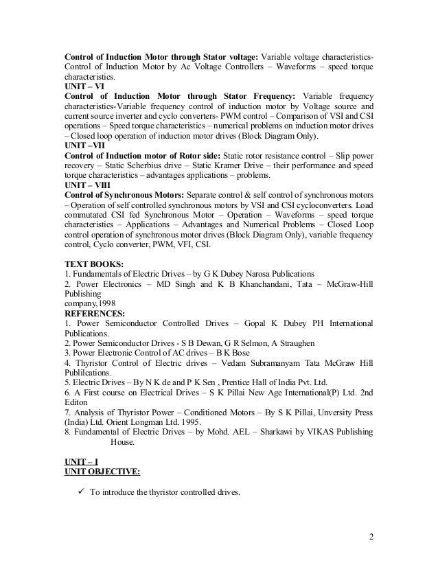 fundamental of electric drives gk dubey pdf free