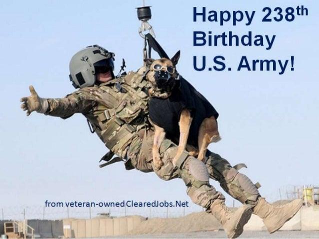 Happy 238th U.S. Army!