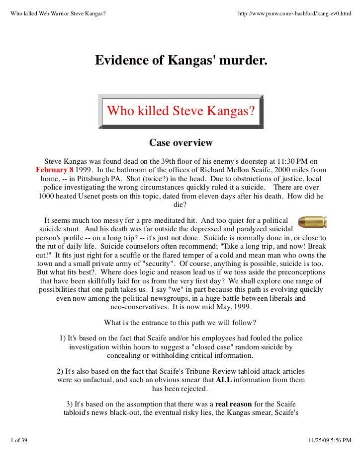 23998459 who-killed-web-warrior-steve-kangas