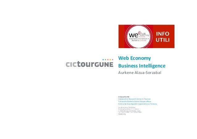 Aurkene Alzua Sorzabal - Web Economy, Business Inteligence