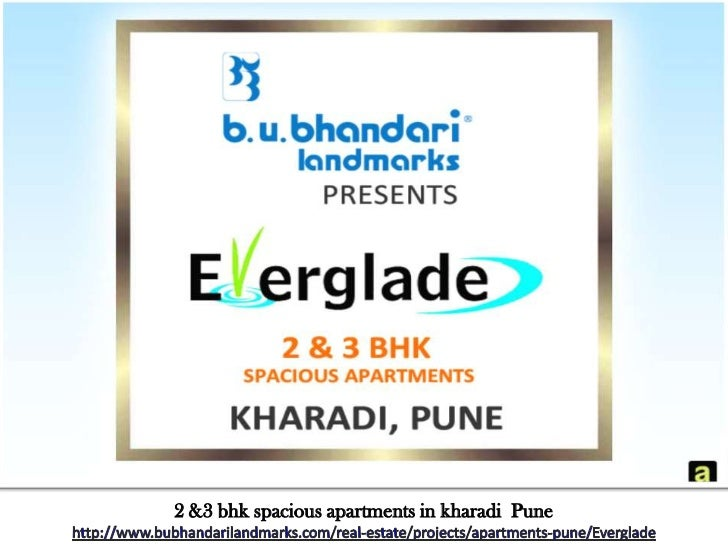 BU Bhandari Landmarks Everglade 2 & 3 bhk Spacious Apartments in Kharadi Pune