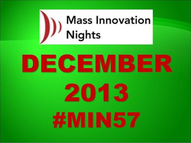 #MIN57 event slideshare