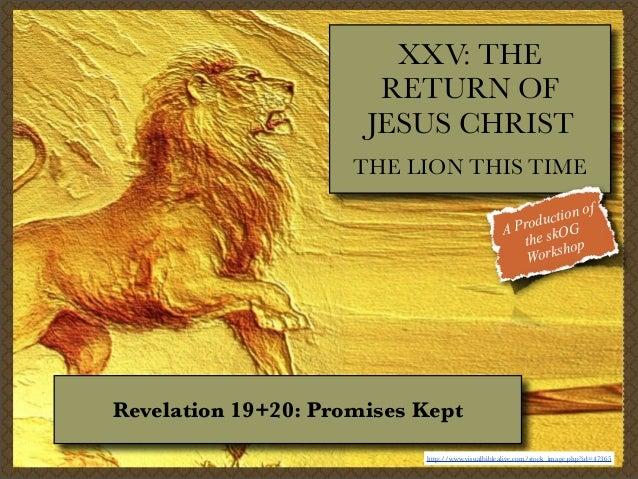 XXIII  The Return of Jesus Christ in Revelation