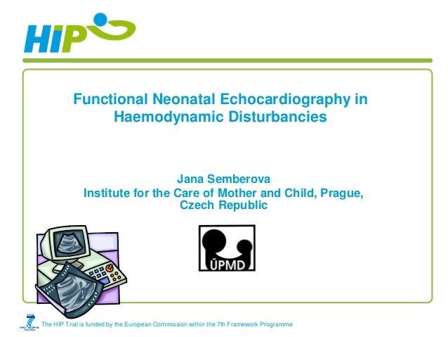 Functional Neonatal Echocardiography in               Haemodynamic Disturbancies                                Jana Sembe...