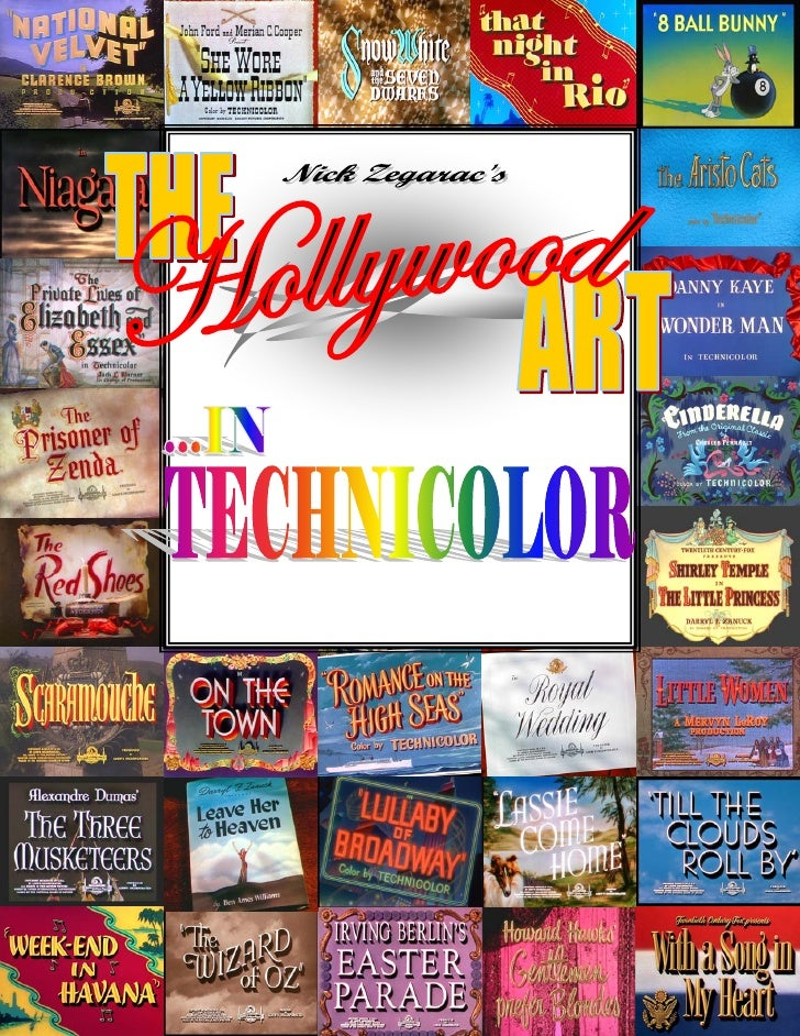 23) The Hollywood Art   In Glorious Technicolor