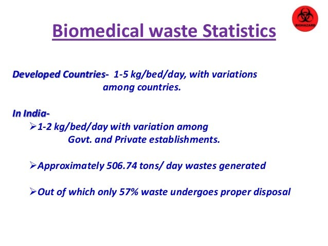 thesis related to biomedical waste management Quizzes society nature waste management waste disposal or flammable and do not pose disease-related risk are considered biomedical waste.