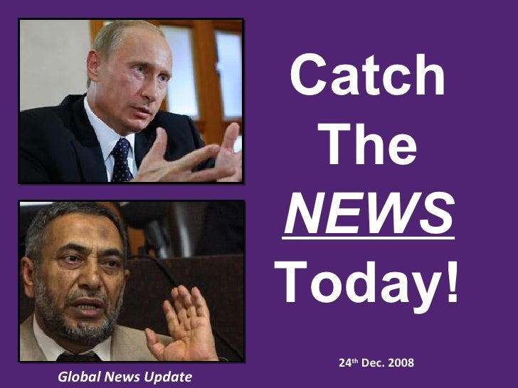 24 Dec Global News update catch the news today