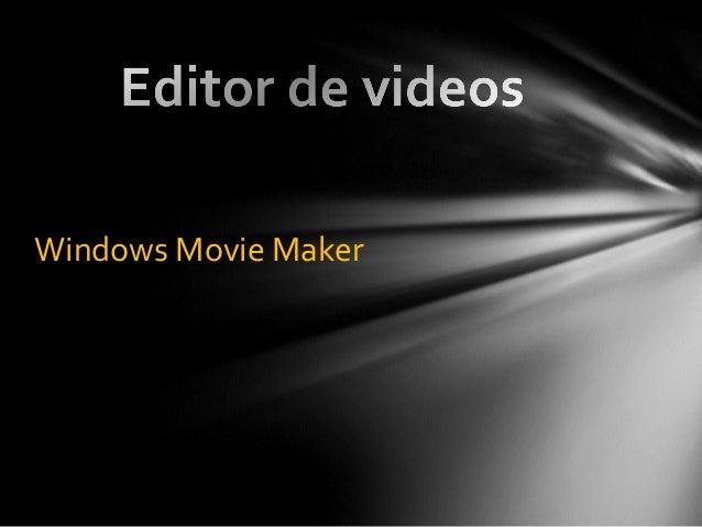 Editor de videos por Daniel Orviz y Laura Rivera
