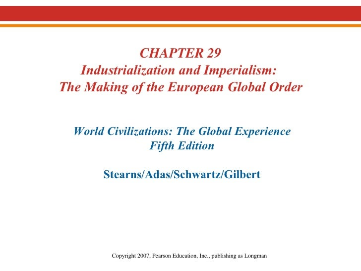24.  Industrialization and Imperialism
