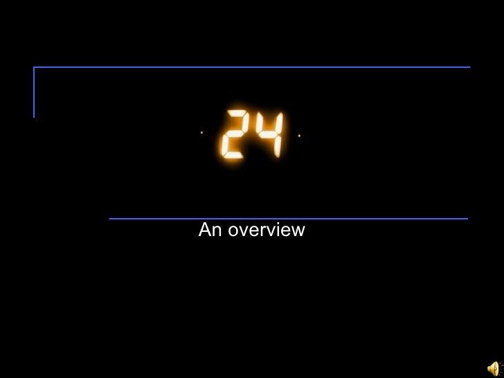 24 - Season 6 primer