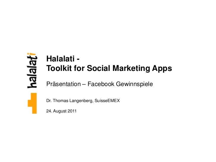 Facebook Gewinnspiele und Facebook Apps