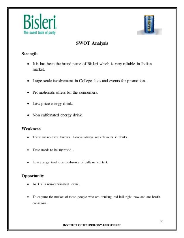 swot analysis of bisleri 'bisleri pop': bisleri's re-entry into india's soft drinks market case study solution, analysis & case study help.