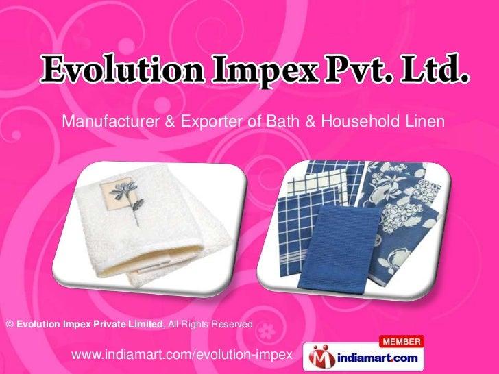 Evolution Impex Private Limited Delhi India