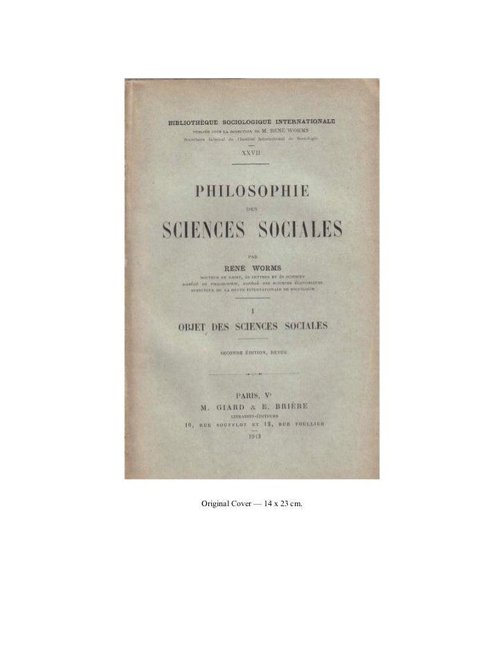 24566431 objet-des-sciences-sociales