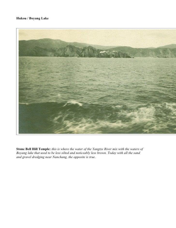 Hukou  / Boyang Lake
