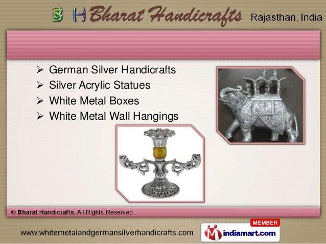Silver Handicrafts Jaipur German Silver Handicrafts
