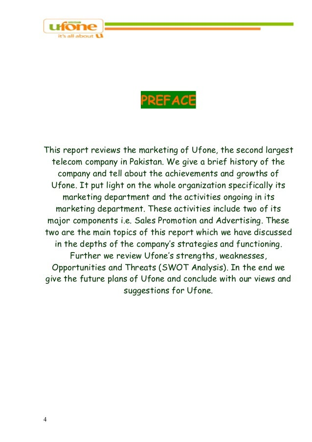 mission statement of ufone Mission statement of ufone - free download as pdf file (pdf), text file (txt) or  read online for free.