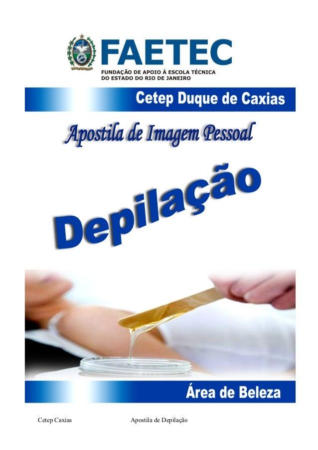 Cetep Caxias Apostila de Depilação