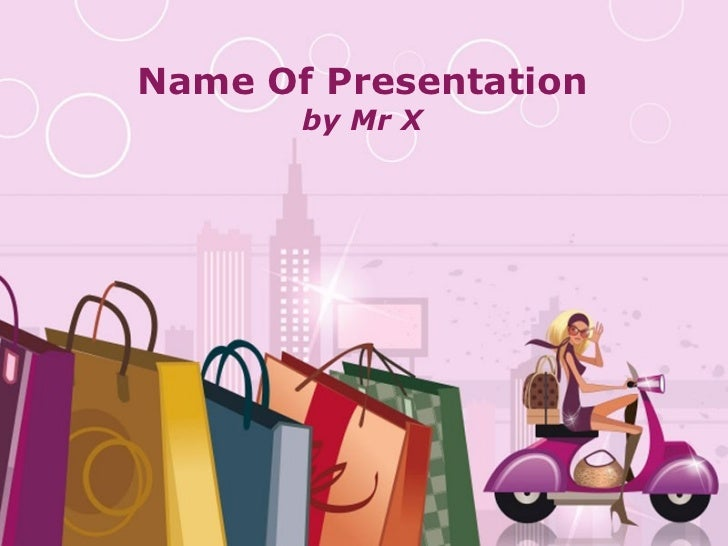 Free Powerpoint Templates Name Of Presentation by Mr X