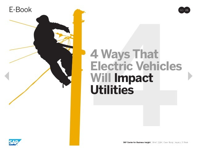 4 ways that electric vehicles will impact utilities
