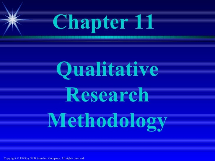 Chapter 11                                 Qualitative                                  Research                          ...