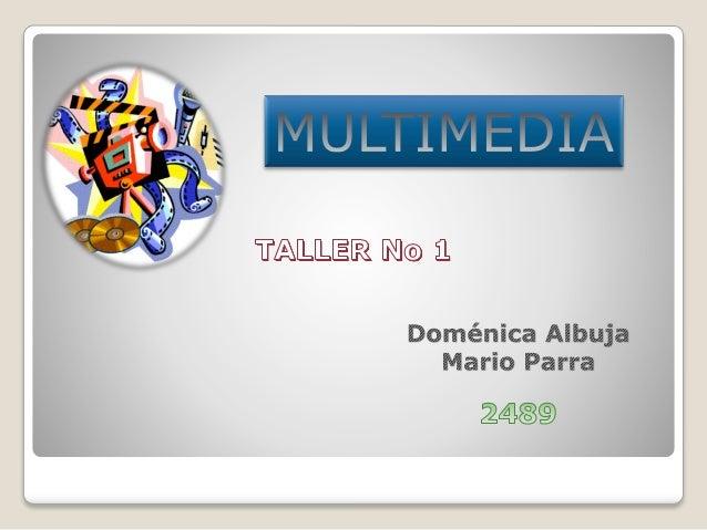 Definicion caracteristicas medios y elementos de la - Definicion de multimedia ...