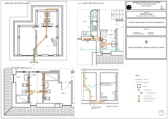 Aaagreco resume and samples cad - Impianto idraulico cucina ...