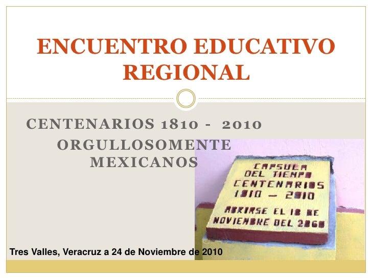 ENCUENTRO EDUCATIVO REGIONAL
