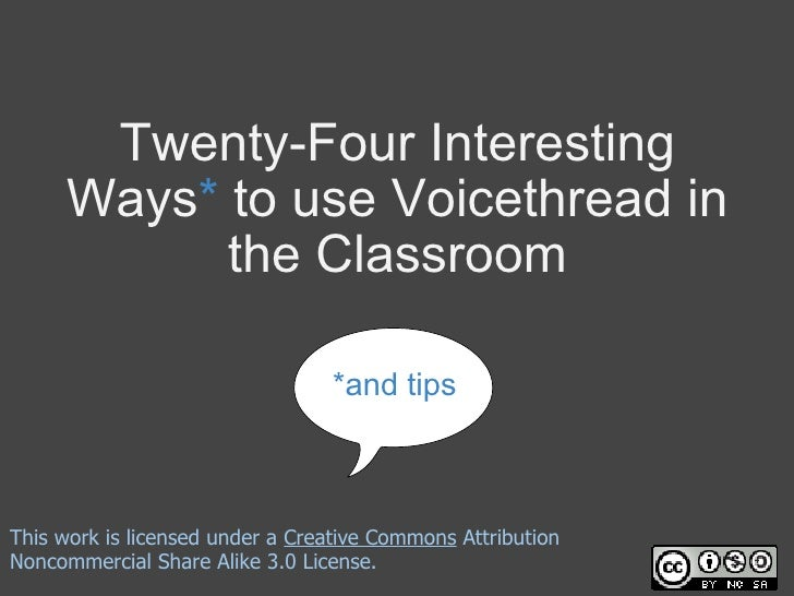 24 interesting ways_to_use_voicethread_in_the