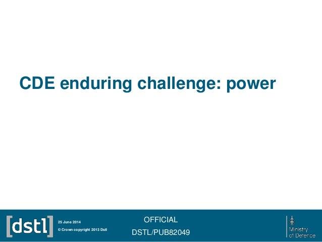 24 June 2014: power enduring challenge